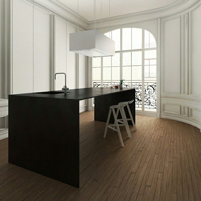My first render of interior. Almaty.