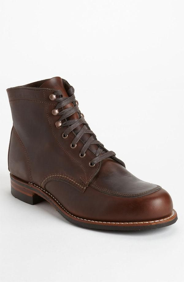 d4be85064d9 Wolverine 1000 Mile Courtland Moc Toe Boot Would be great with slim ...
