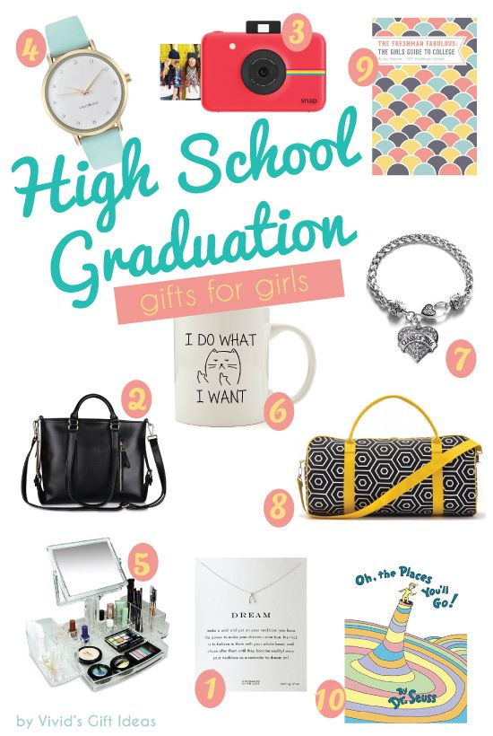 10 High School Graduation Gifts For Girls From Parents High School Graduation Gifts Girls Graduation Gifts Best Graduation Gifts