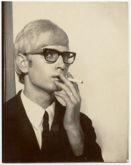 """...Thomas Rosmer? Is that you""  anonymous photobooth photo. Copyright Nakki Goranin from American Photobooth, WW Norton 2008"