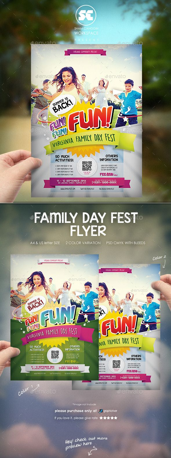 family day flyer miscellaneous events design pinterest flyer