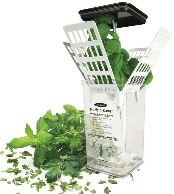 Aerogarden Herb 'N Save Fresh Herb Keeper Lawn Garden 400 x 300