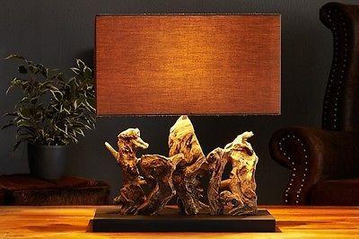 Holz Le Design tischleuchte hayward aus treibholz tischle tischlicht holz