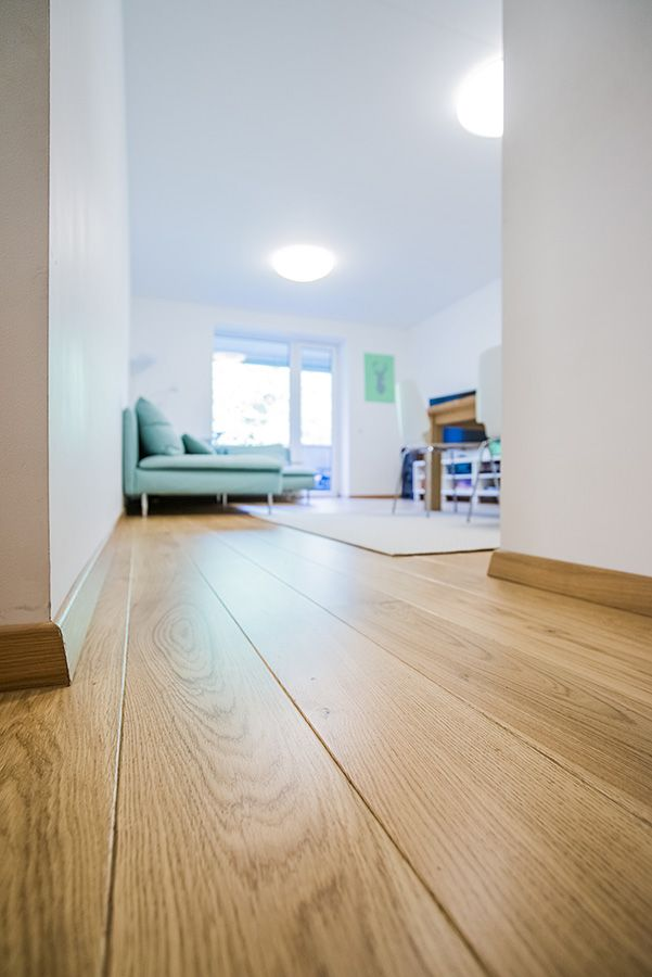 OAK NATURAL. Engineered oak hardwood flooring, sanded and ...