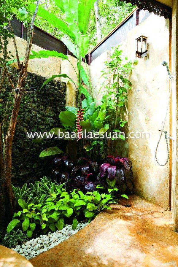 Bali landscape bali garden entrance wish list for yard for Balinese garden design