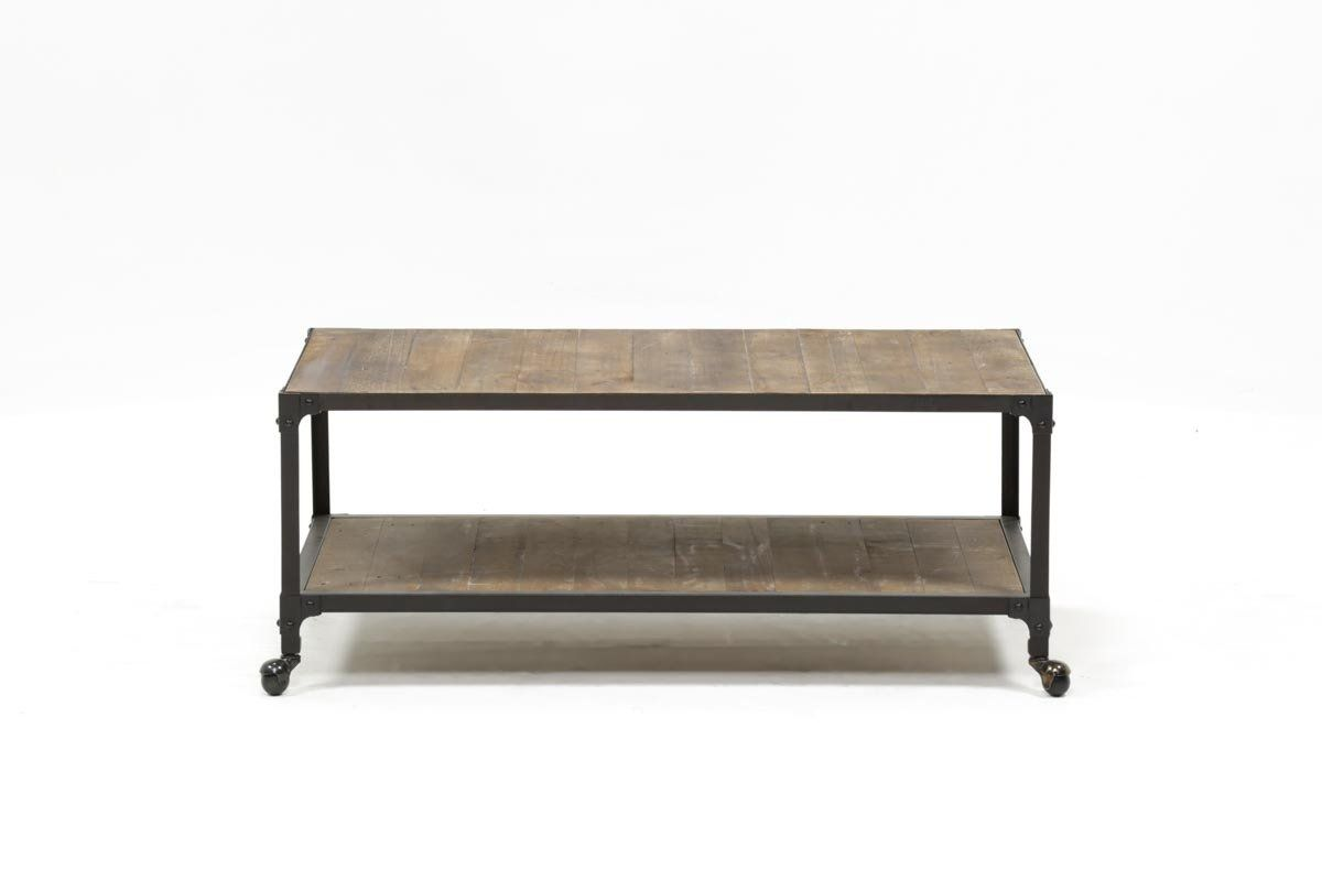 Simple In Form, Industrial In Charm, Our Proton Cocktail Table Will Build  Character In Your Interior. Together, Solid Reclaimed Pine And Iron Create  The ...