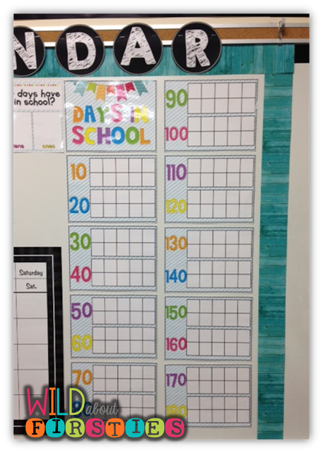 Wild About Firsties!: The FREE Calendar