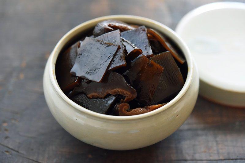 昆布と椎茸の佃煮のレシピ/作り方:白ごはん.com | veggie recipe ...