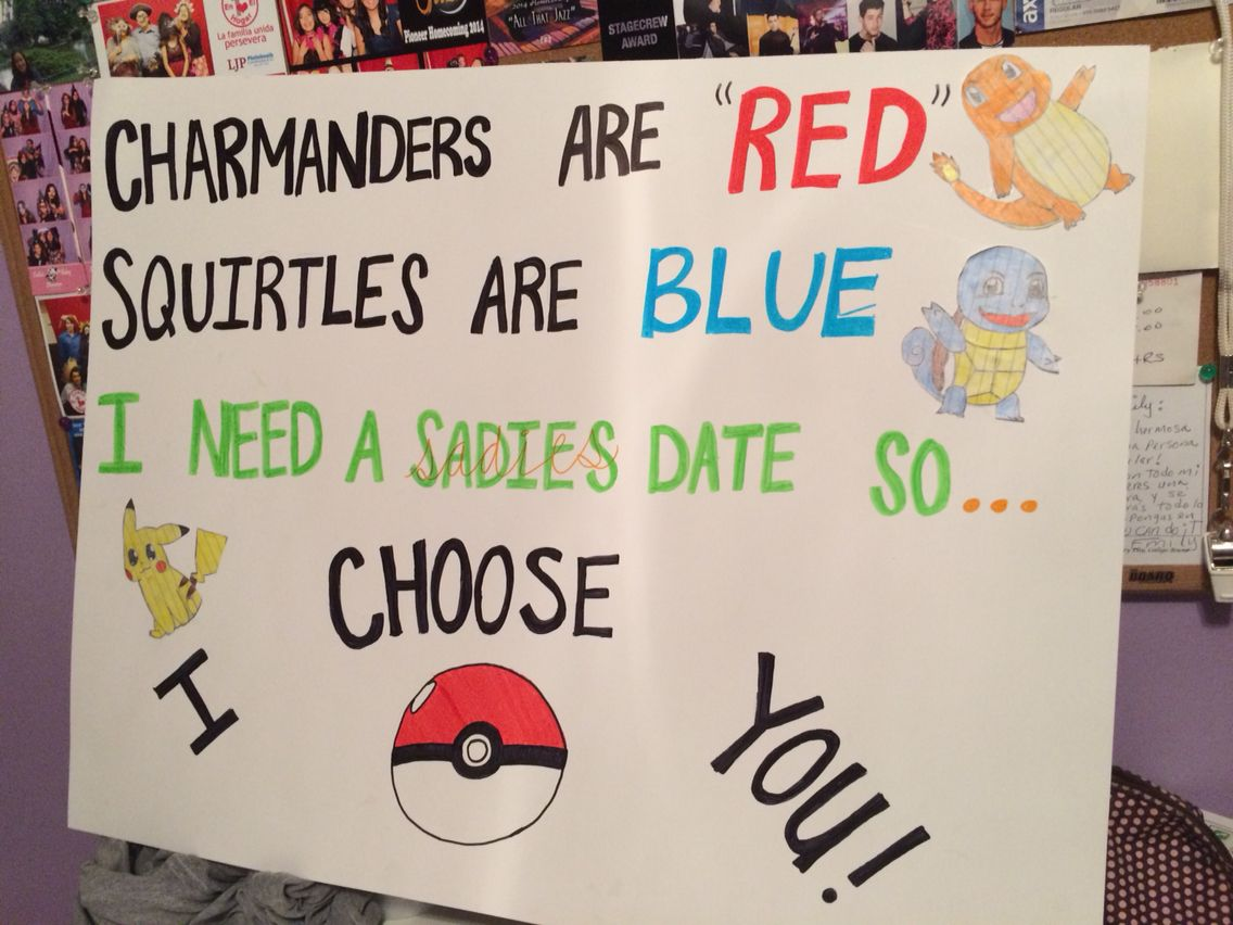 Asking To Prom Pinterest Sadies idea!!! #sadies...
