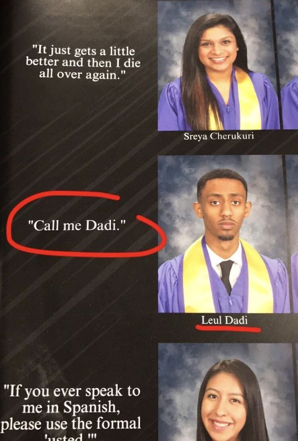 147 Times Students Had The Best Yearbook Quotes