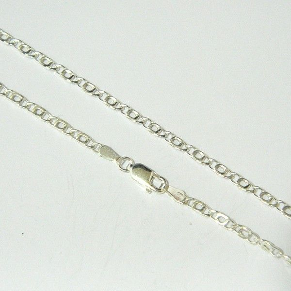 92d784947b8b Cadena de plata de primera ley de 60 cm de largo