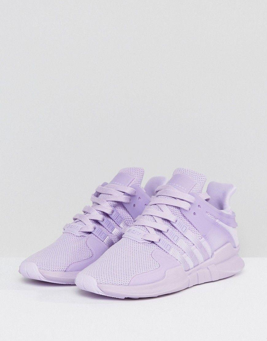adidas Originals EQT Support Adv Sneaker In Lilac Purple