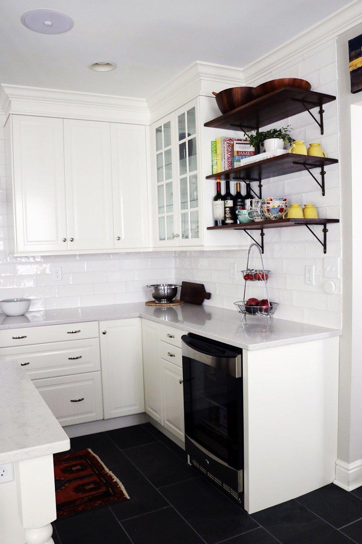 Baltimore Traditional White IKEA Kitchen Remodel | White ikea ...