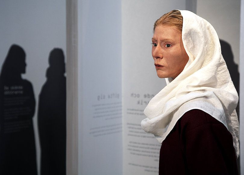 Estrid Swedish Viking Woman Reconstruction Vikings