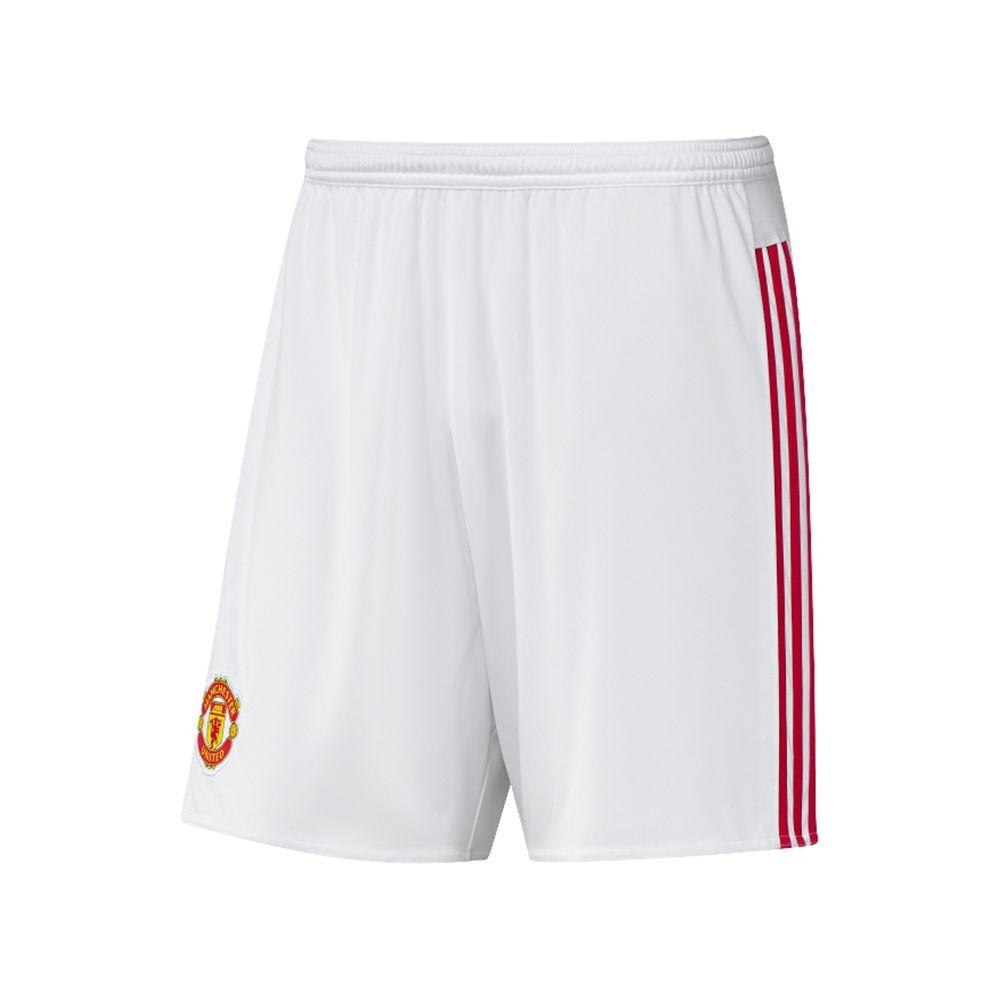 adidas Mens Manchester United Home Replica Shorts