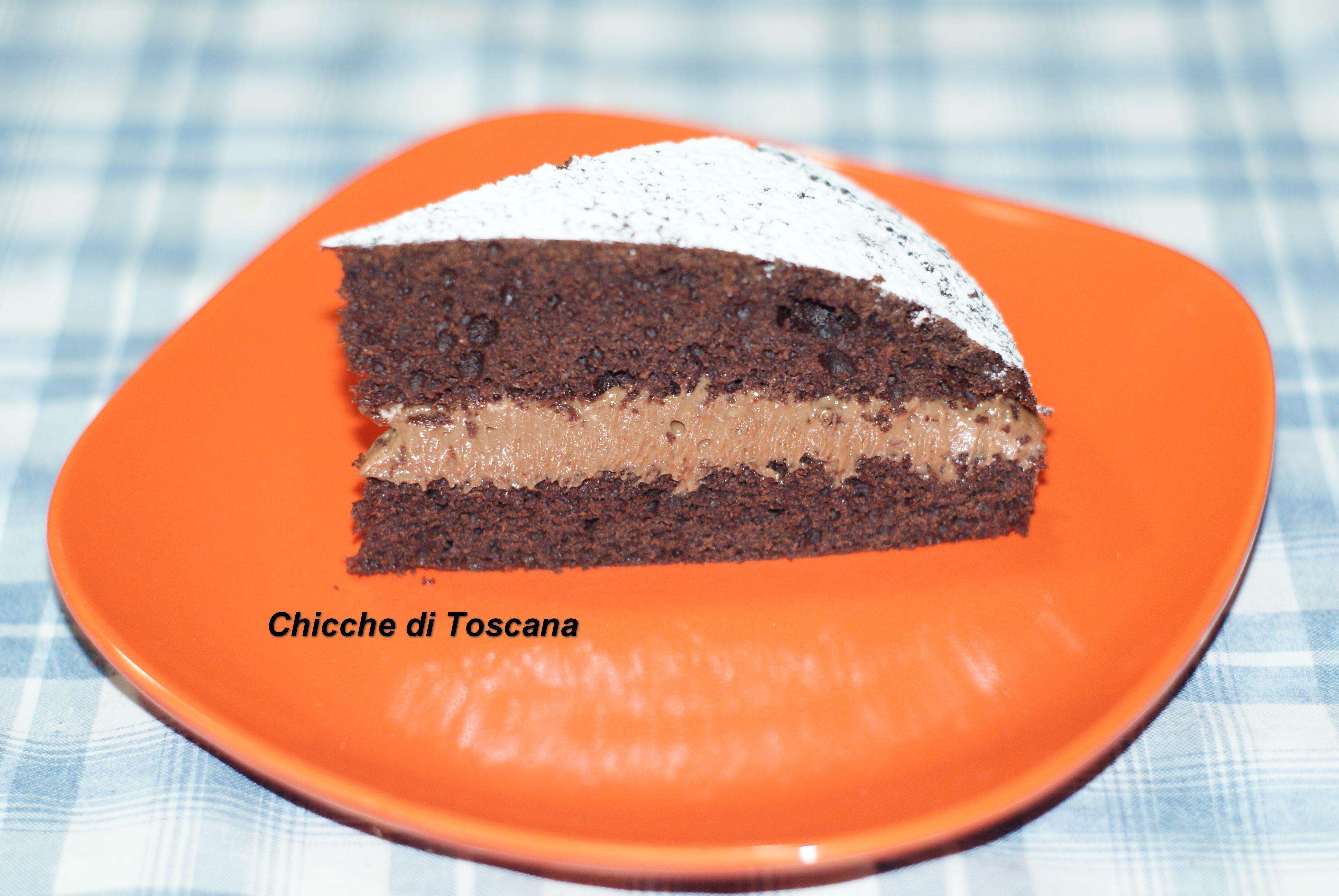 Torta di cioccolato con mascarpone e nutella Un connubio perfetto! http://chiccheditoscana.altervista.org/torta-di-cioccolato-con-mascarpone-e-nutella-2/