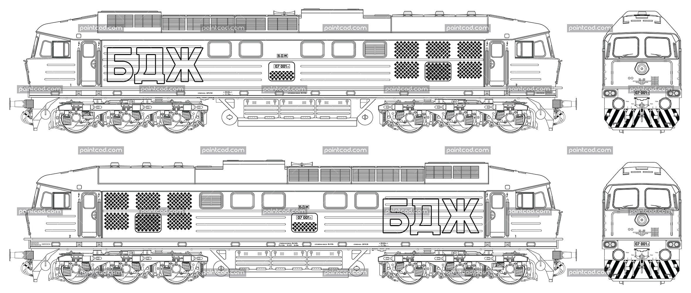 diagram of voroshilovgrad locomotive luhanskteplovoz te 109 [ 2357 x 1000 Pixel ]