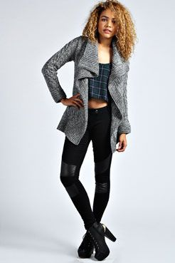 Nicole Marl Knit Waterfall Cardigan | Clothes... | Pinterest ...