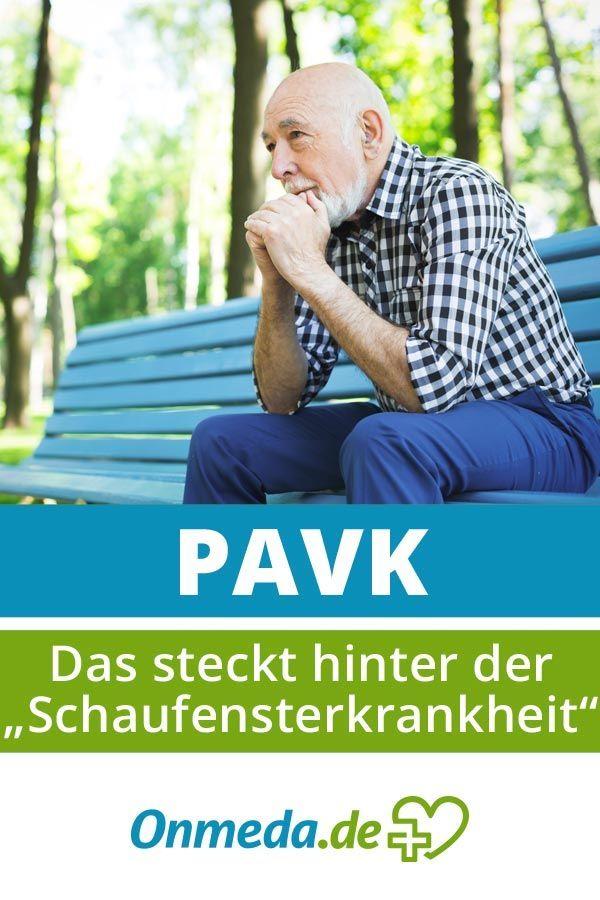 PAVK (periphere arterielle Verschlusskrankheit): Jeder ...