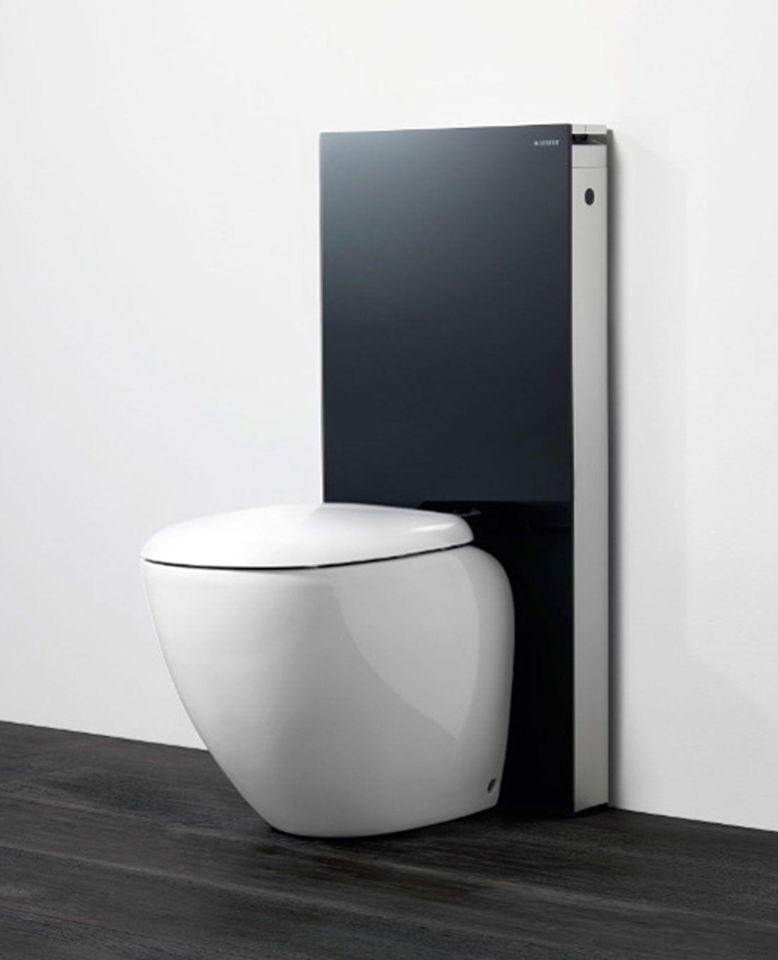 sleek and clean modern water closet  bathroom water closets  - modern bathroom