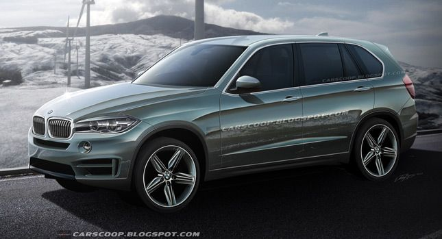 2017 Sports Cars Future Rendered Evolution Of The Bmw X5 Suv Carscoops