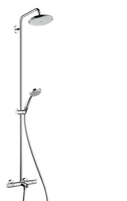 Wonderful Showerpipe Croma 220 Bain/douche