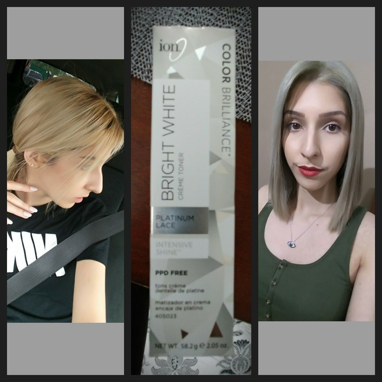 watch at to home hair oops color colored wella dyed black blonde platinum