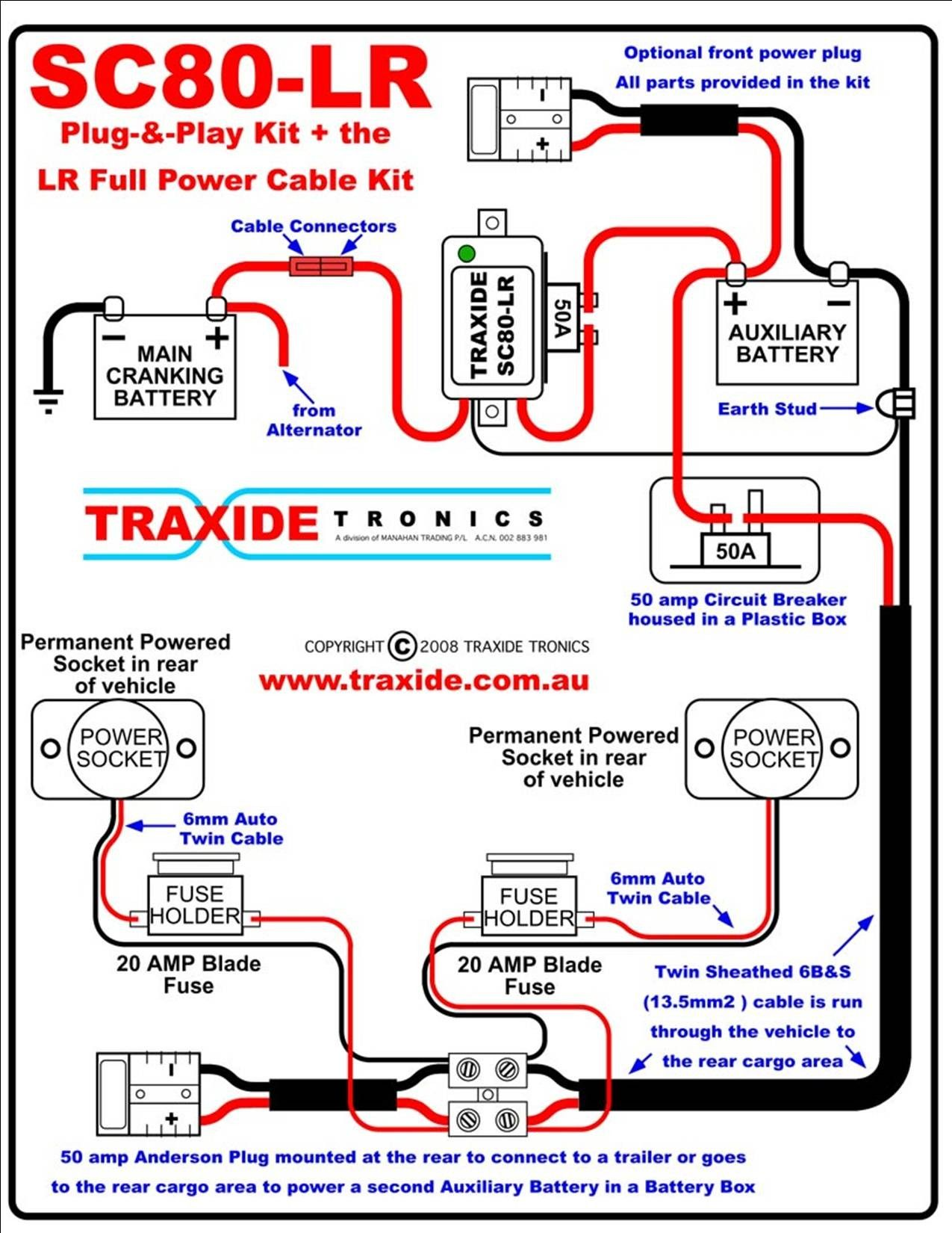 Unique Second Battery Wiring Diagram Car  Diagram