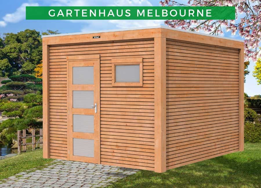 Lasita Maja Gartenhaus Melbourne (optional mit Anbau