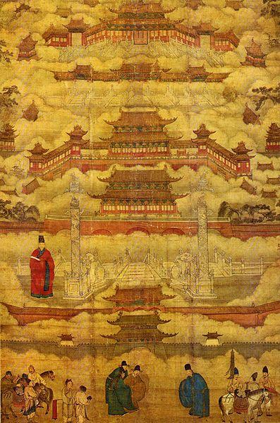 The Forbidden City China City City Painting Forbidden City
