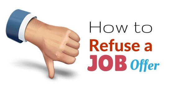 What things to #Negotiate in a #Job Offer other than #Salary - politely turning down a job offer