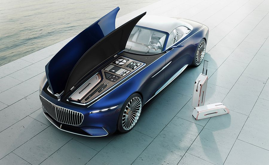 Delicieux Mercedes Maybach Vision 6 Cabriolet, Electric Super Luxury Concept Car