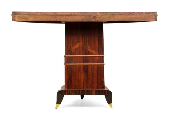 pair of art deco console tables italian c1930