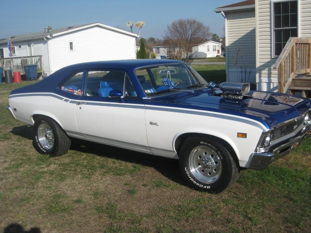 Blueprint engines recently received a photo submission from customer blueprint engines recently received a photo submission from customer thomas dempsey he has installed our bp38316ct1 into this gorgeous 1969 chevy nova ss malvernweather Images