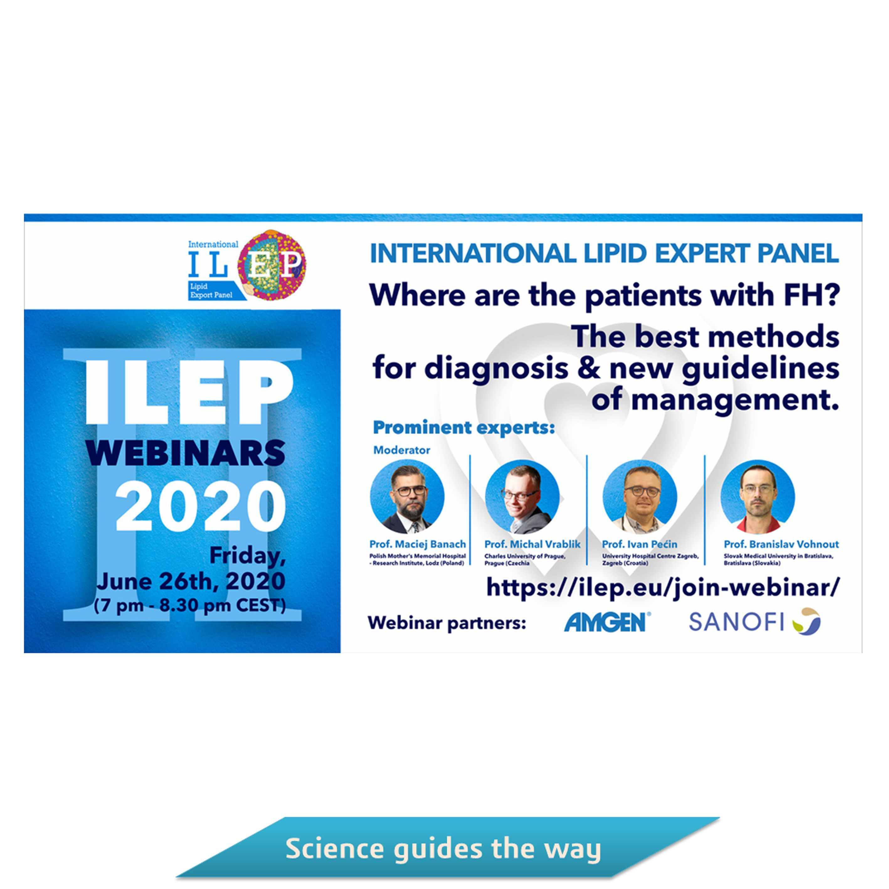 It´s a pleasure to invite you to attend 2nd ILEP Webinar