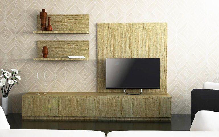 Buy Petrel Rustic Entertainment Unit Online, Best Price - HomeLane ...