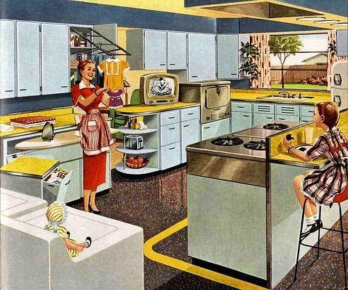 Cozinhas Dos Anos 50 Nostalgiarama 50 39 S Inspiration