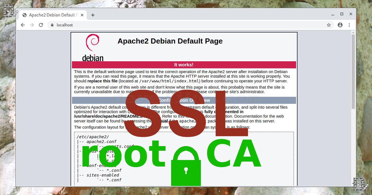 certificate ubuntu local environment apache debian trusted adding