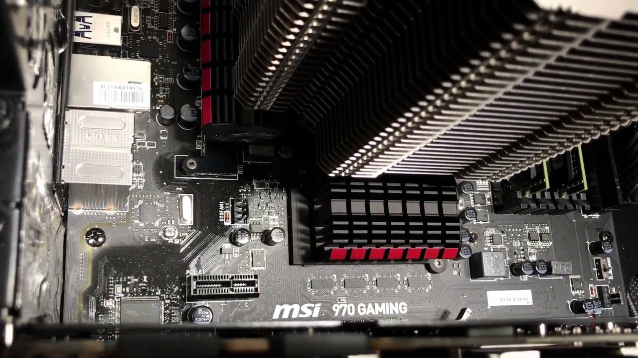 VRM pissing grease on motherboard [video]  I've been told