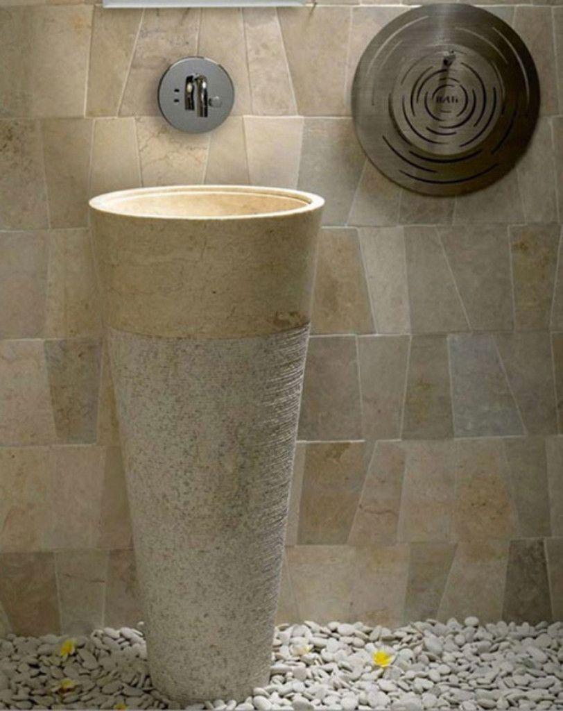 vasque totem en granit decoration pinterest vasque en pierre vasque et granit. Black Bedroom Furniture Sets. Home Design Ideas