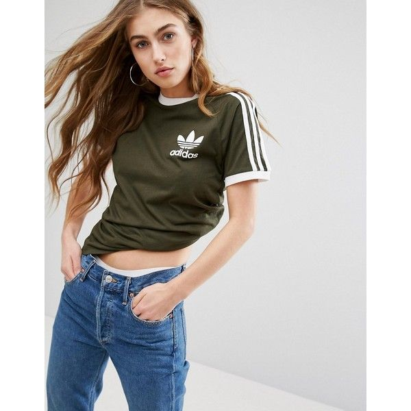 adidas shirt khaki