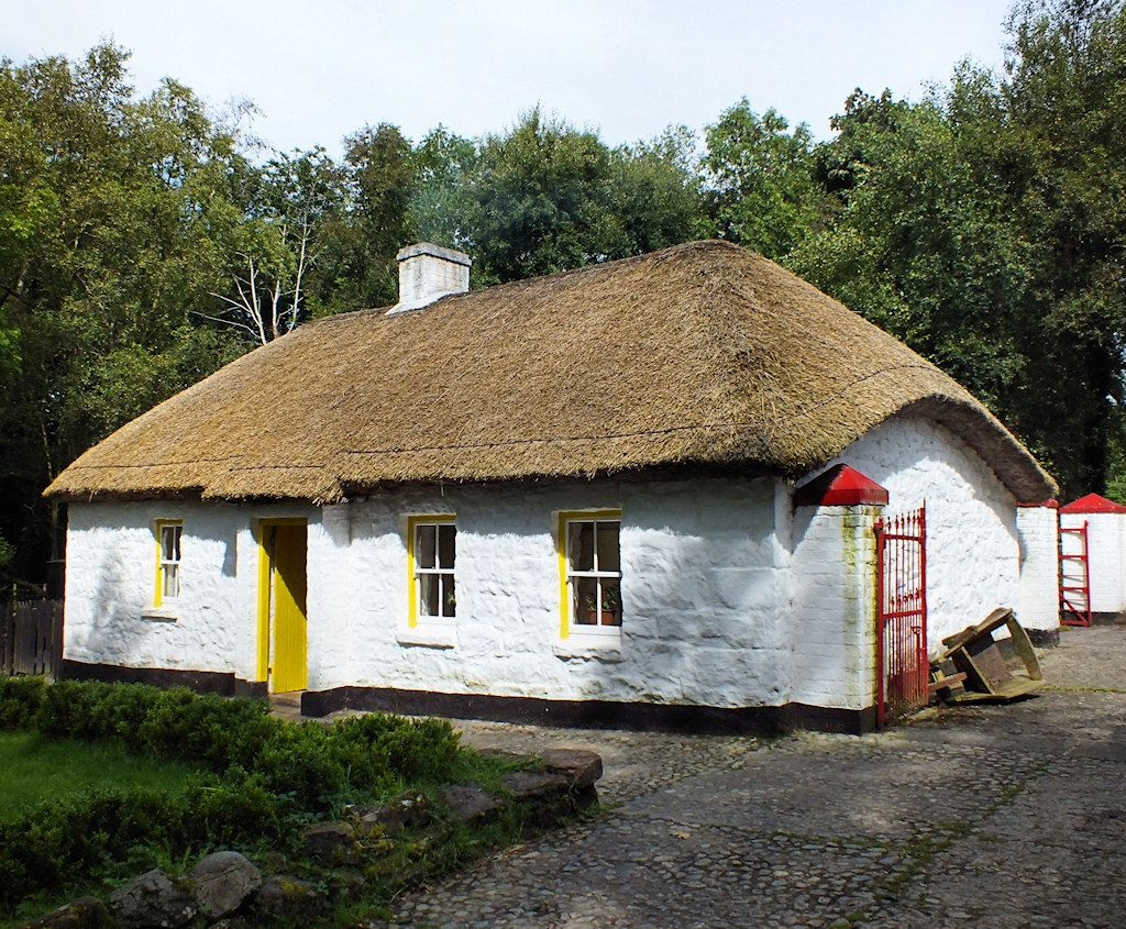 Irish Cottage, my mother grew up in a similar cottage ...