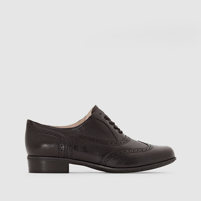 Hamble Oak Low-Heeled Lace-up Leather Brogues