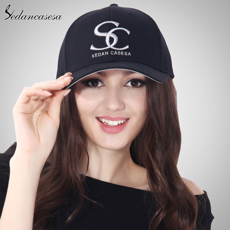 ec661cbc5abe1 est Unisex Brand Embroidery SC 100% Cotton Baseball Cap Grey Blue Pink Black  Wine Red Female Snapback Hats Wholesale Men Caps Love it