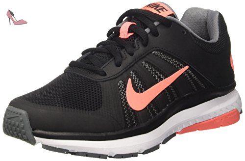 Nike Wmns Dart 12, Sneakers Femme, Noir (Black/Lava Glow/Cool Grey/White), 38.5 EU - Chaussures nike (*Partner-Link)