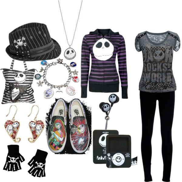 Disney Inspired Outfits, Disney Outfits, Disney Style, Disney Clothes,  Women's Clothes, - Pin By Mack Harper On The Nightmare Before Christmas Pinterest