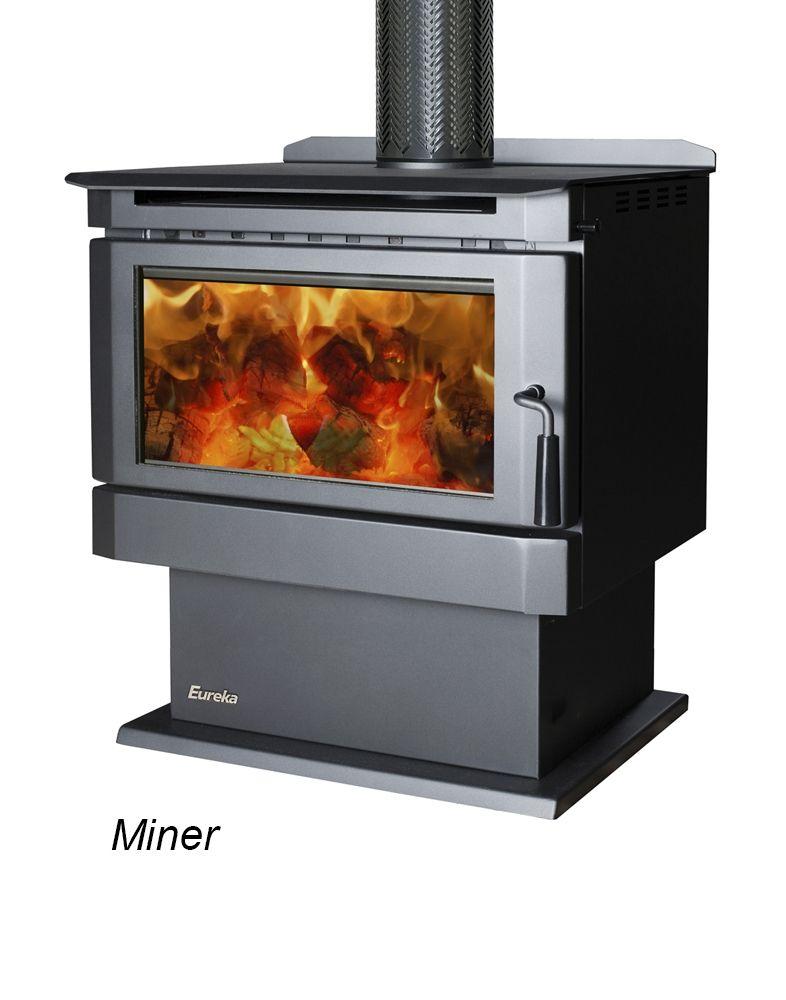 Wood Fireplace freestanding wood fireplace : Eureka Miner Freestanding Wood Fireplace | Fireplace | Pinterest ...