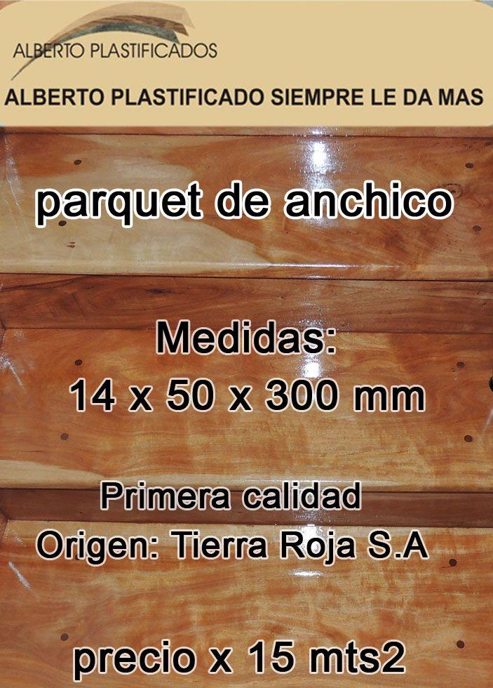 venta de lote de parquet de anchico de 5 cm de ancho x 30