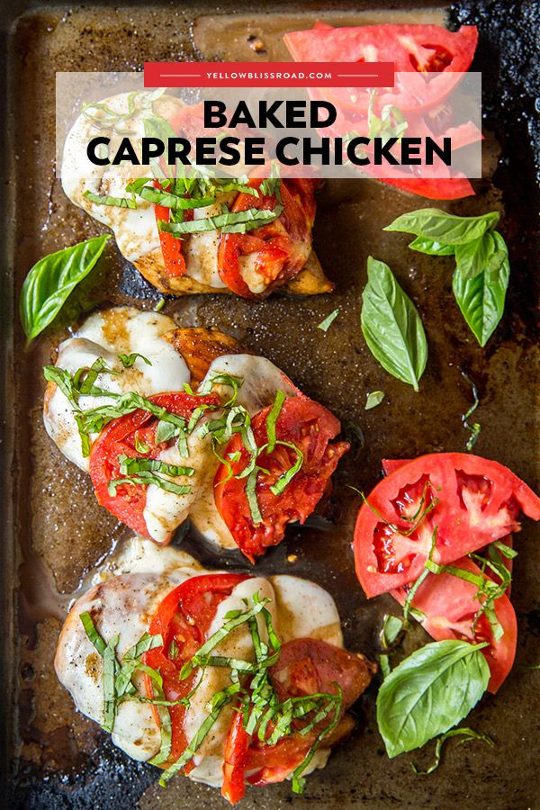 Photo of Baked Chicken Caprese
