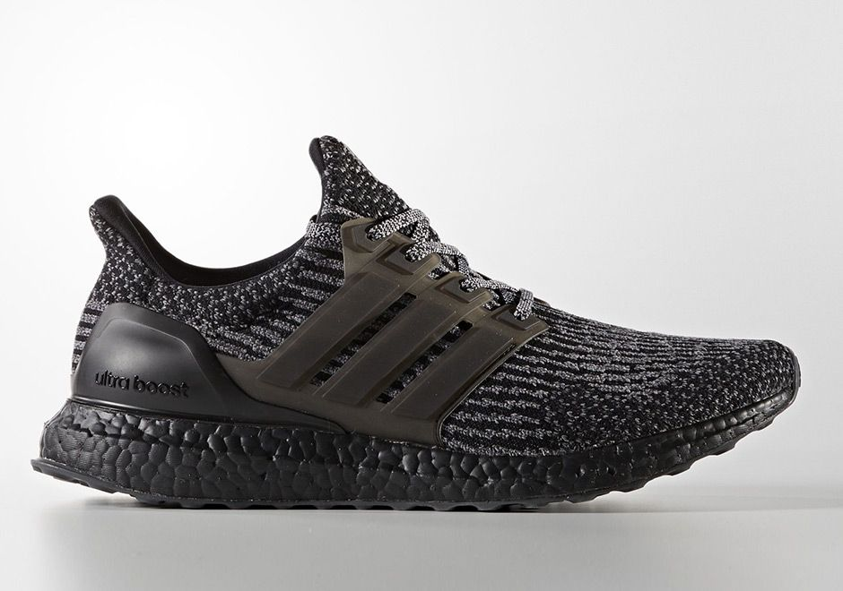"Few key words are hotter in the sneaker world right now than ""Ultra Boost"" and ""Triple Black"", so this upcoming release should be music to your ears: another all black edition of the adidas Ultra Boost 3.0. Very closely related … Continue reading →"